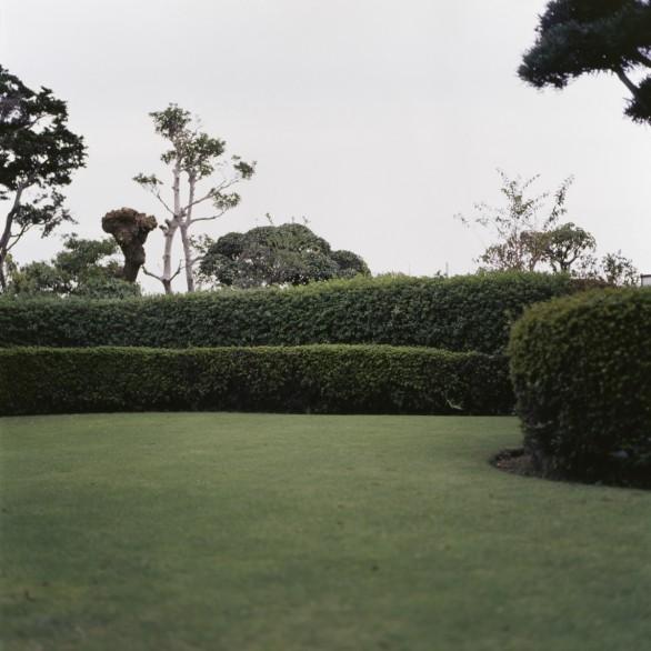 Haie (Mashiko), 2009 tirage jet d'encre sur papier 13x13 cm (image), 29.7x21 cm (feuille)