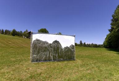 FORMAT, exposition en plein air, Mont-Soleil